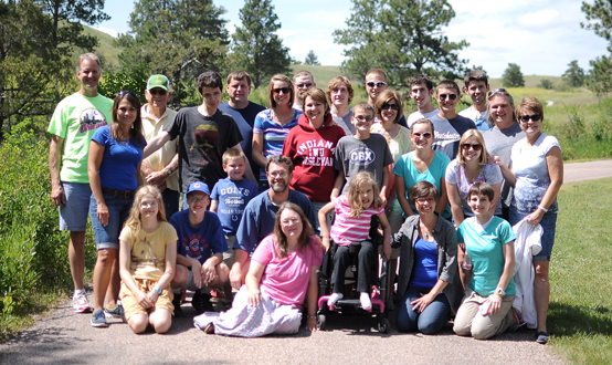 South Dakota Missions Trip Group